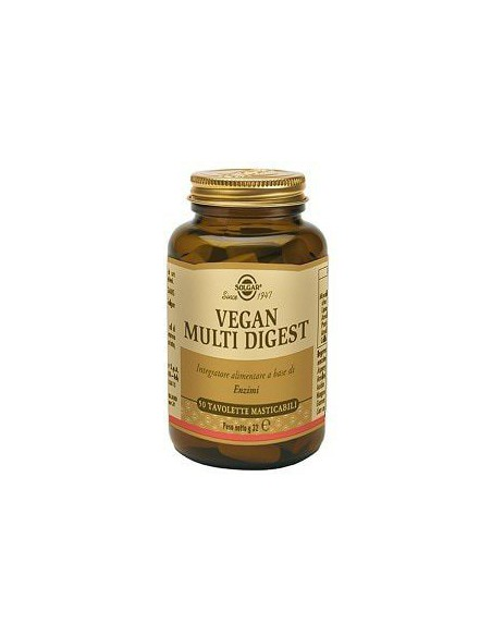 VEGAN MULTI DIGEST 50TAV SOLGAR