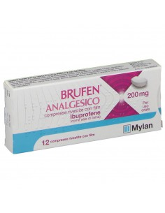 BRUFEN ANALGESICO 200 mg 12 compresse