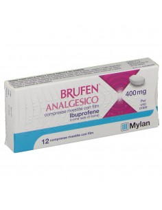 BRUFEN ANALGESICO 400 mg 12 compresse
