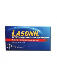 LASONIL ANTINF*24CPR 220MGALEVE