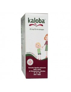 KALOBA 20 mg/7,5 ml sciroppo 100 ml