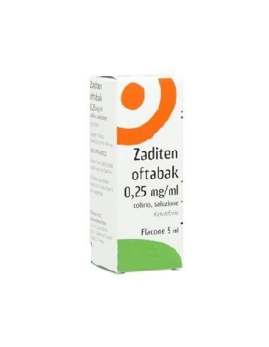 ZADITEN OFTABAK COLLIRIO 5 ml