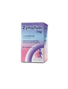 ZYMAFLUOR*100 CPR 1 MG