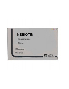 NEBIOTIN*30CPR 5MG
