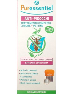 PURESSENTIEL PIDOCCHI SPRAY+PETTINE