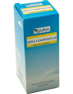 SEPIA COMPOSITUM gocce 30 ml