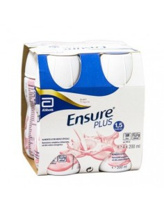 ENSURE PLUS FRAGOLA 4 x 200 ml