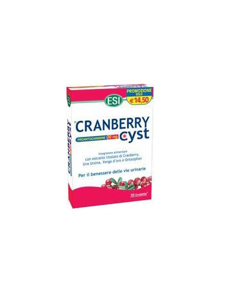 CRANBERRY CYST 30 OVALETTE ESI